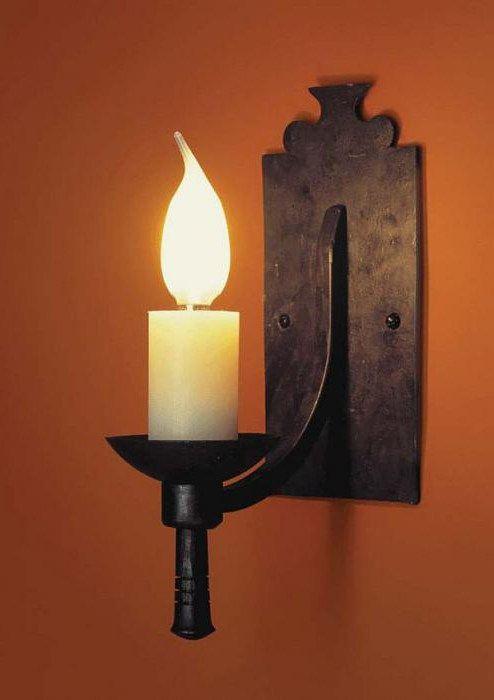 Фото - Настінні свічники - вишукана прикраса для вашого будинку