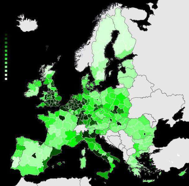 Фото - Загальне населення євросоюзу. Чисельність населення країн євросоюзу