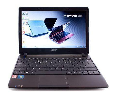 Фото - Огляд ноутбука acer aspire one 722: опис, технічні характеристики та відгуки власників