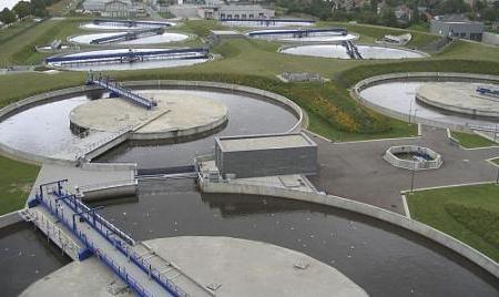 Фото - Очисні споруди господарсько-побутових стічних вод. Каналізаційні колектори