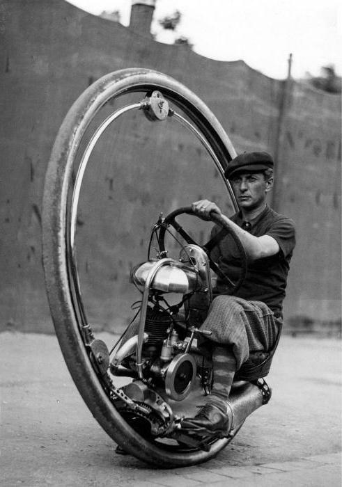 Фото - Одноколісні мотоцикли - реальність наших днів