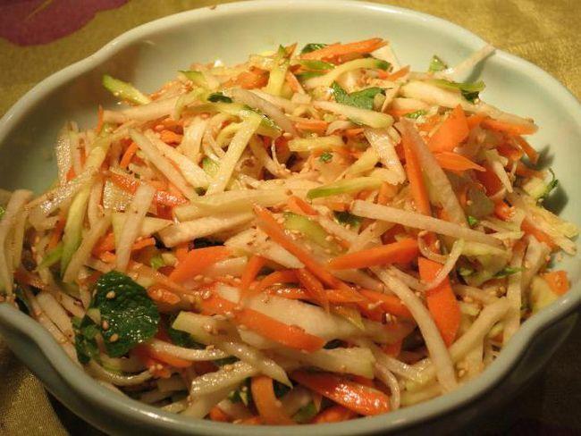 Фото - Огірки по-корейськи з морквою. Рецепти