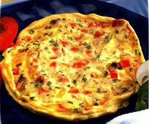 Фото - Омлет з овочами - рецепт приготування з фото
