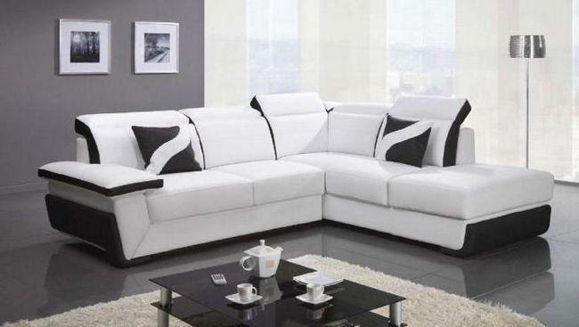 Фото - Оптимальний розмір кутового дивана для вітальні. Розмір спального місця кутового дивана