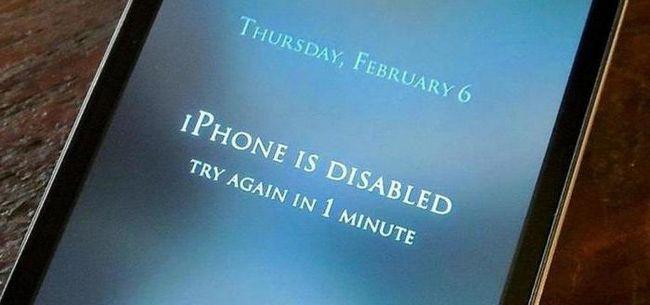 Розблокувати iPhone через iTunes