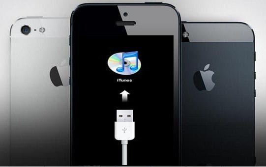 Як розблокувати Айпад через iTunes