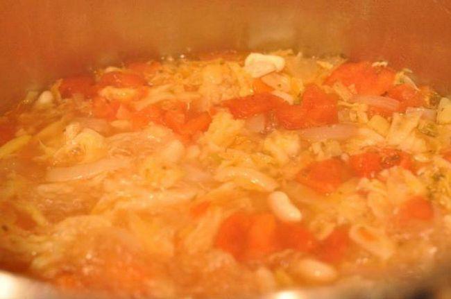овочева заправка до супів і других страв