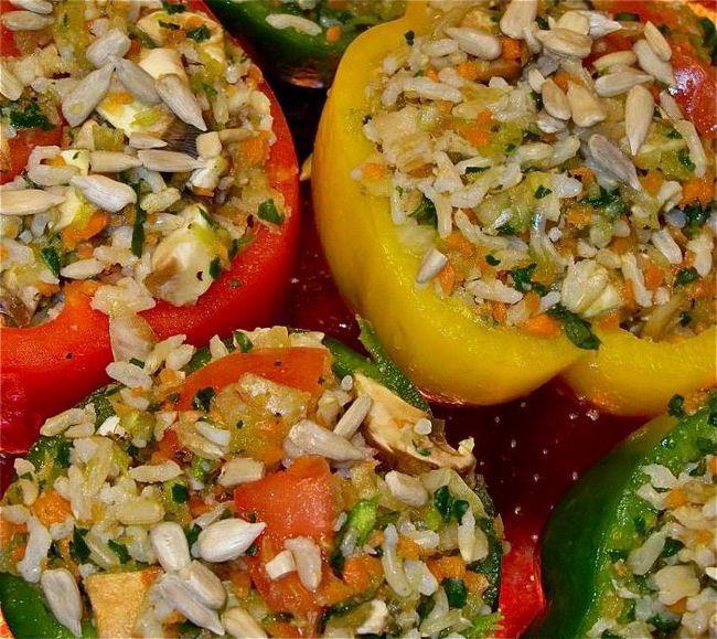 Фото - Перці, фаршировані морквою. Рецепти