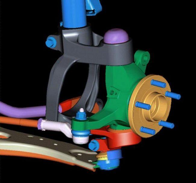 Фото - Передня підвіска ваз-2107: заміна, ремонт, тюнінг, схема і ціна