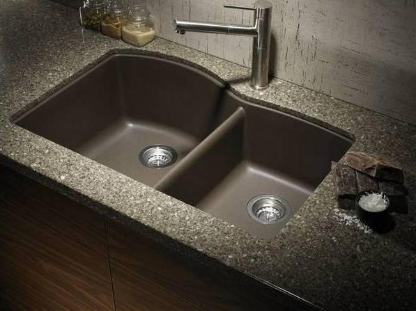 ухонная мийка зі штучного каменю blanco