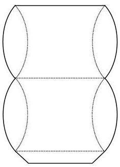 кругла коробочка з картону своїми руками схема