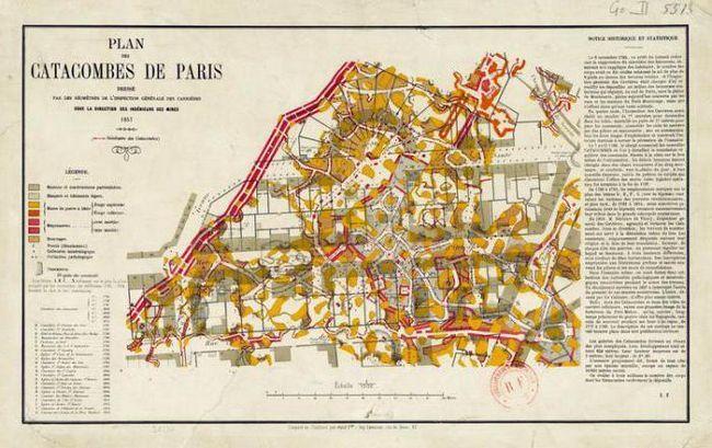 Фото - Підземний париж. Катакомби Парижа: опис, історія та відгуки відвідувачів