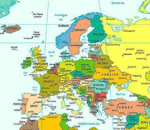 Фото - Повний список європейських країн
