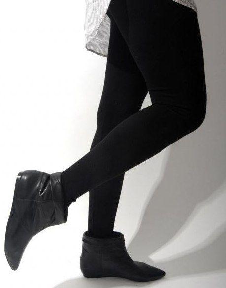 Фото - Півчобітки без каблука. З чим носити?