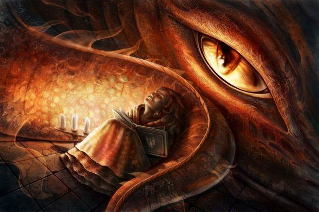 Фото - Постійно бачите драконів? У вас просопометаморфозія!