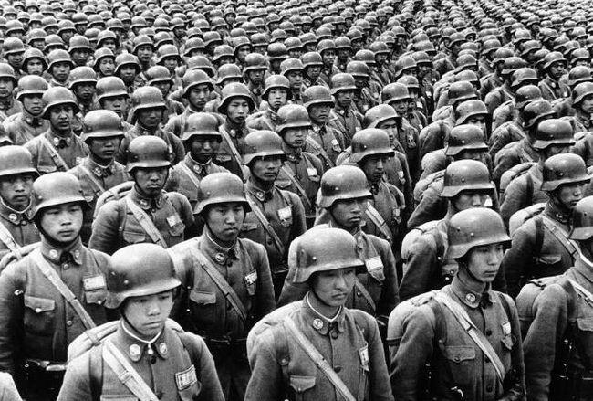 загиблі китайці у другій світовій війні
