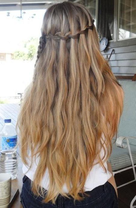 гарні зачіски з розпущеним волоссям