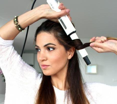 як правильно накручувати пасма волосся