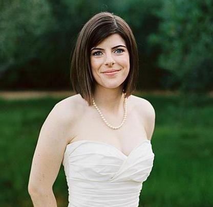 Фото - Зачіски на каре - весільні ідеї