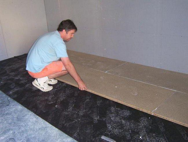 Фото - Застосування цементно-стружкових плит у будівництві