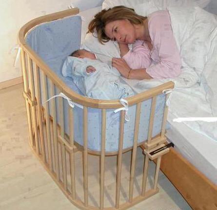 Фото - Приставна дитяче ліжечко - купити або зробити самому