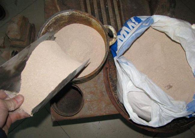 Фото - Розчин для кладки печі з цегли: компоненти, пропорції, приготування
