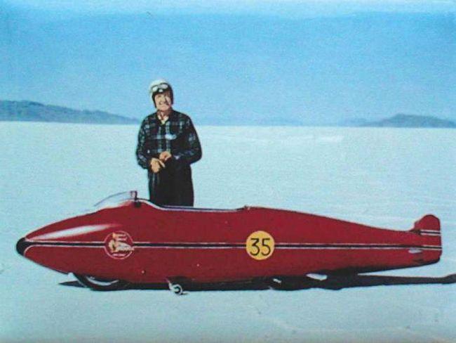 Фото - Рекорд швидкості берта монро
