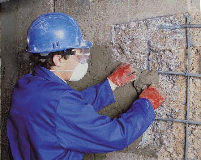 Фото - Ремонтні суміші для бетону. Різновиди, характеристики, інструкція