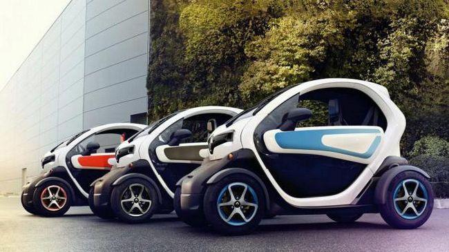 Фото - Renault twizy: технічні характеристики, огляд, фото. Renault twizy 45
