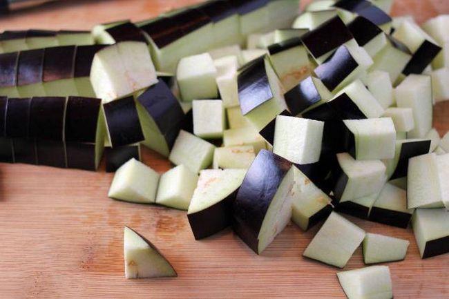Фото - Рис з баклажанами в мультиварки - смачно, просто і корисно