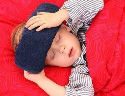 блювота і температура у дитини на море