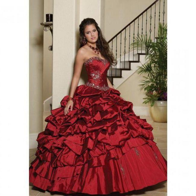 Фото - З чим носити бордову сукню?