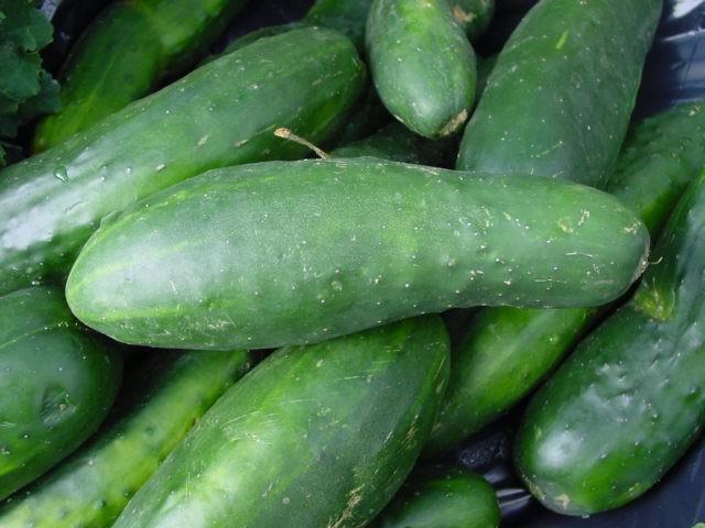Салат з перестиглих огірків на зиму