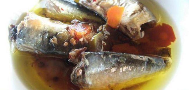 салат на зиму з рибою