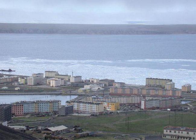 Фото - Найпівнічніший місто россии - Певек