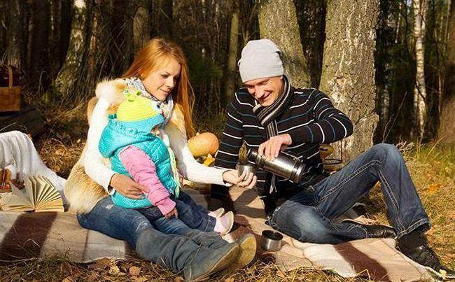сімейна фотосесія на природі з дитиною