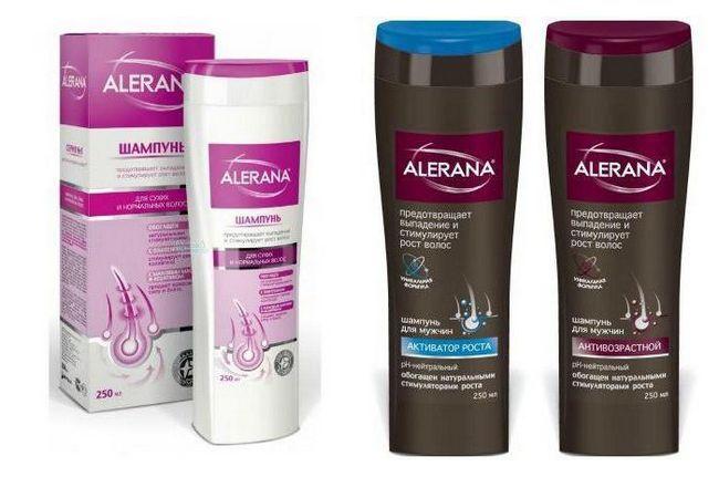 шампунь Алерана для росту волосся відгуки