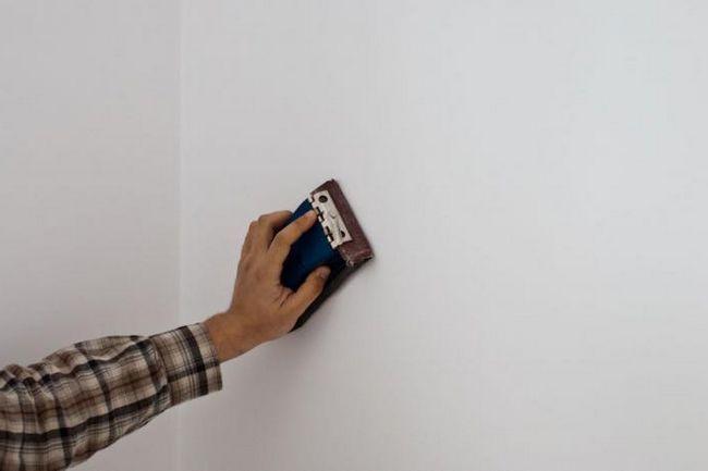 шпаклівка стін своїми руками як виключити помилки
