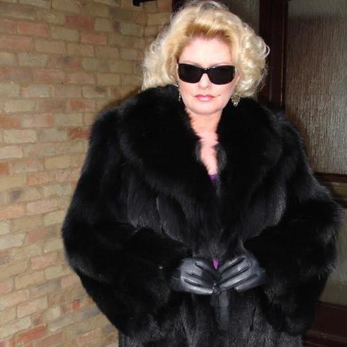 Фото - Шуби із чорнобурки: моделі, фото, відгуки