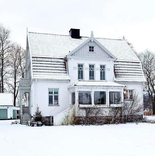 скандинавські каркасні будинки