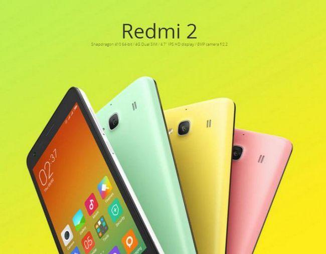 Фото - Смартфон xiaomi redmi 2: відгуки, характеристики, ціни