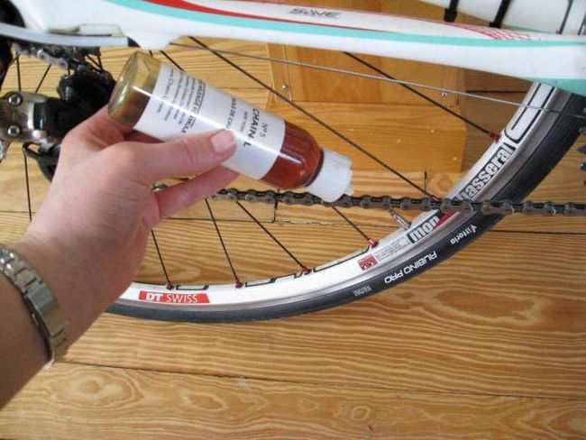 силіконова змазка для велосипеда