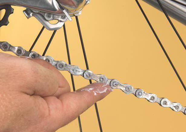 які мастила для змащення велосипеда