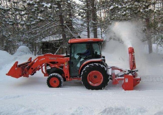 снігоочисник шнекороторний фрс 200м
