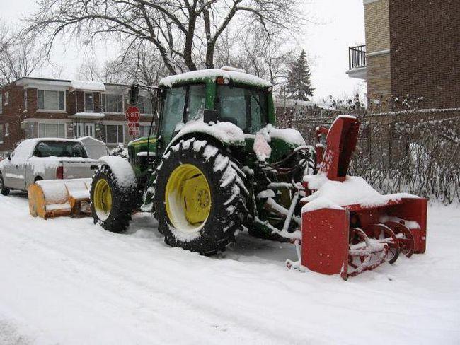шнекороторний снігоочисник на базі урал