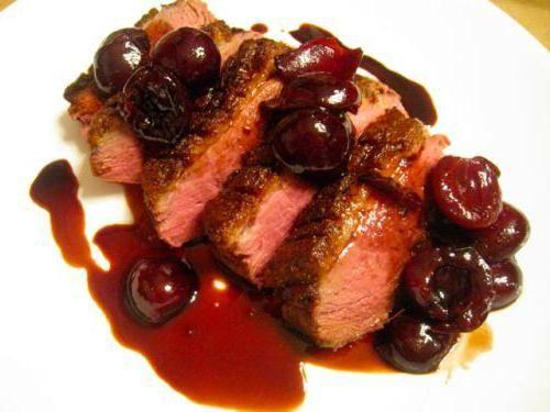 червоний соус до м'яса