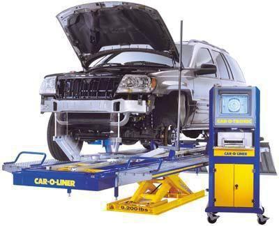 Фото - Стапелі для кузовного ремонту: види і опис
