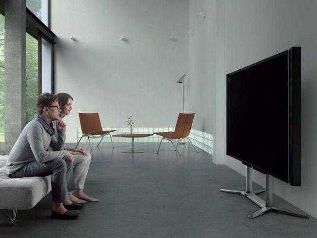 Фото - Стильні підлогові підставки під телевізор (фото)