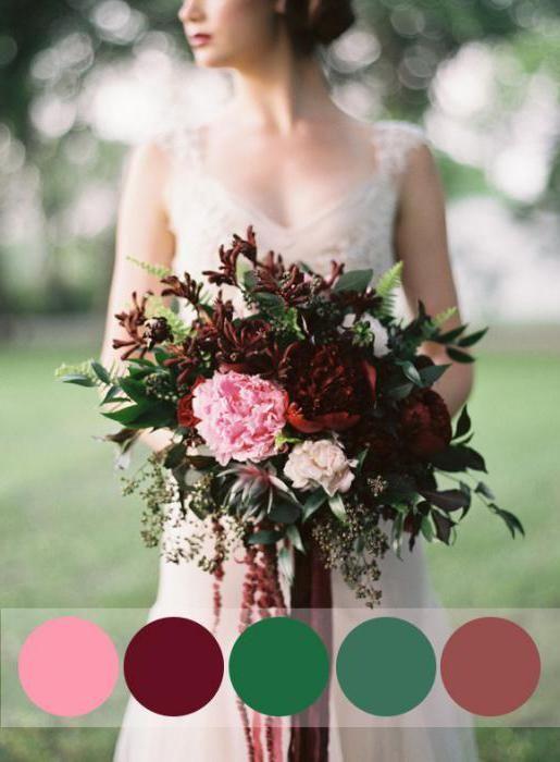 Фото - Весілля в кольорі марсала: модно, стильно і зі смаком