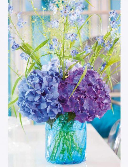 Фото - Весільний букет з гортензії - какая прелесть!